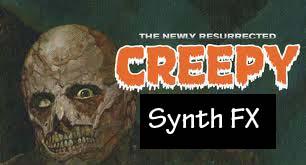 Creepy synth fx