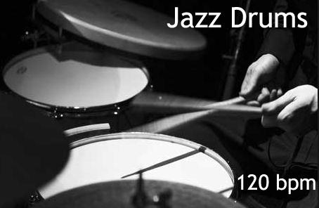 120 jazz drums