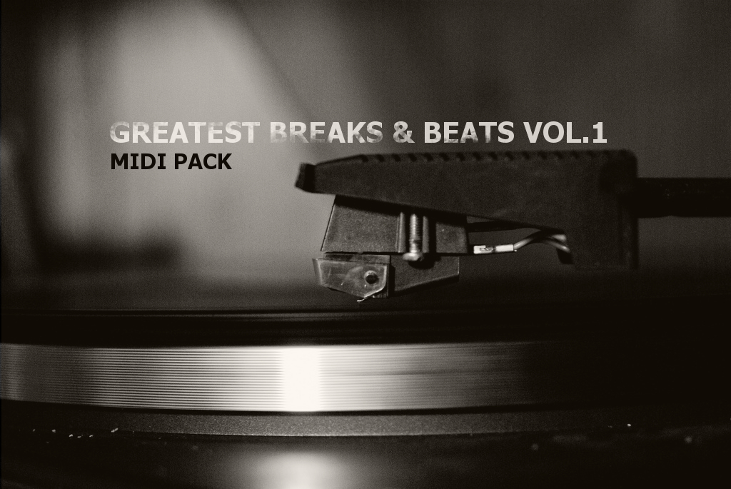 Greatest breaks beats vol1 midi