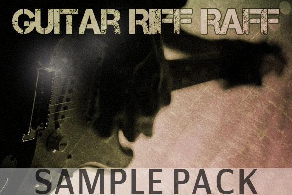 Guitar riff raff sample pack