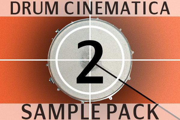 Drum cinematica vol2 sample pack