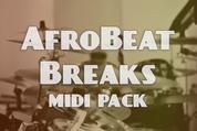Afrobeat breaks midi