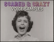 Scared crazy voicesamples
