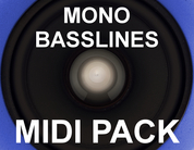 Mono basslines midipack