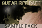 Guitar riff raff sample pack